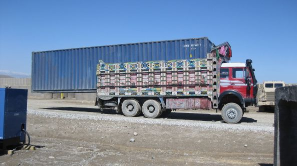 unsafe_transport_of_a_shipping_container_in_afghanistan