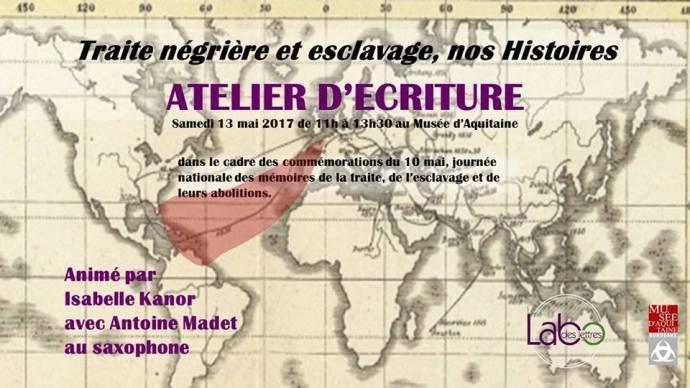 Atelier Labo des Lettres Esclavage
