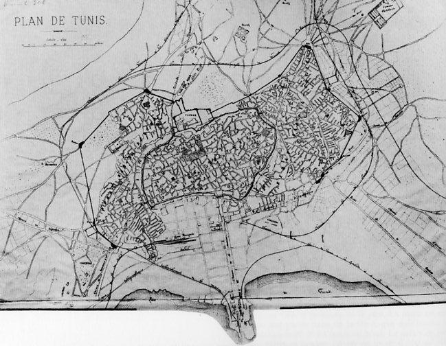 Tunis_map_plan_1881