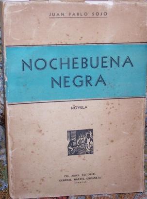 Juan Pablo Sojo. Nochebuena Negra. Fotografía Arturo Alvarez D´Armas.