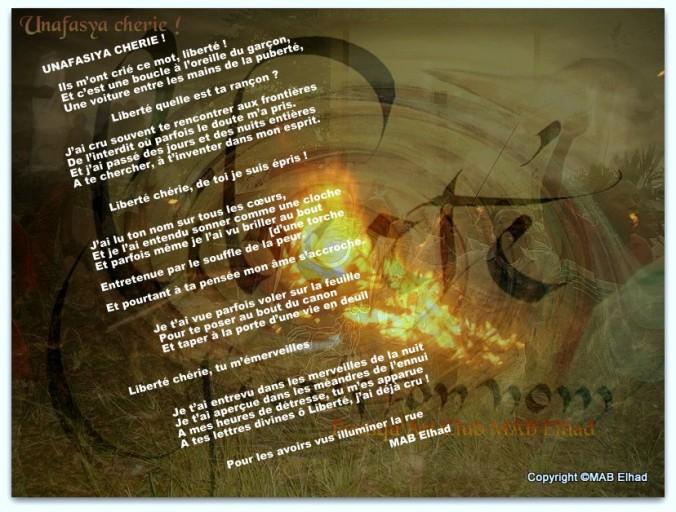 7-Illustration du poème liberté dans Kaulu la mwando