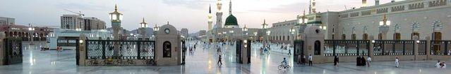 Madina_Haram_at_evening (1)